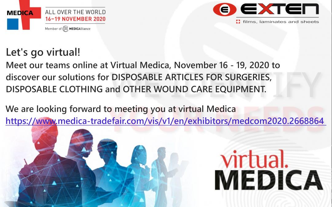 Exten SA at VIRTUAL MEDICA 2020